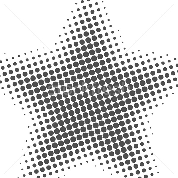 Abstrato metade efeito cinza efeitos projeto Foto stock © kup1984