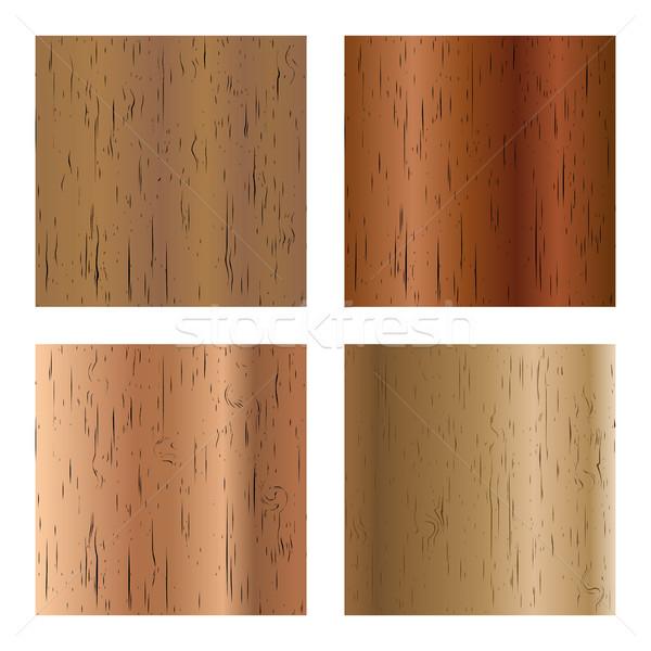 Zdjęcia stock: Zestaw · tekstury · cztery · inny · kolory