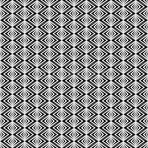 シームレス セット 黒白 抽象的な テクスチャ ストックフォト © kup1984
