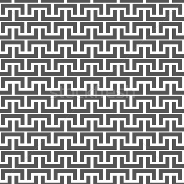 Black and white seamless background, vector illustration. Stock photo © kup1984