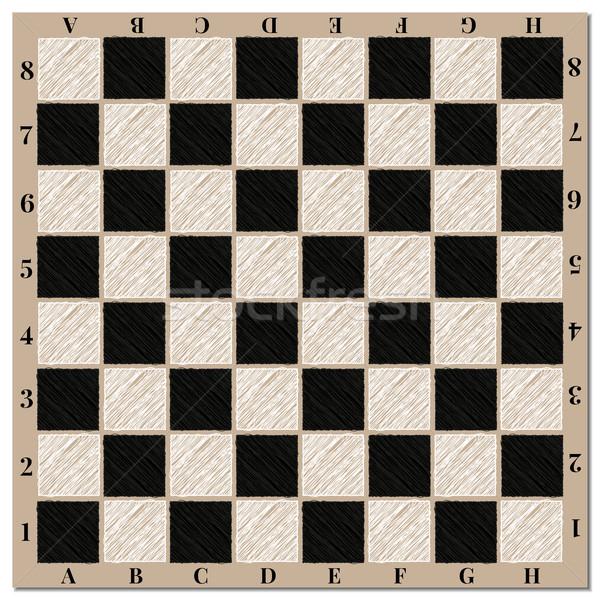 チェスボード チェスボード 背景 ウェブ チェス 黒 ストックフォト © kup1984