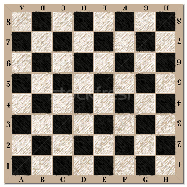 Schaakbord schaakbord achtergrond web schaken zwarte Stockfoto © kup1984