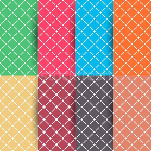 набор восемь геометрический Сток-фото © kup1984