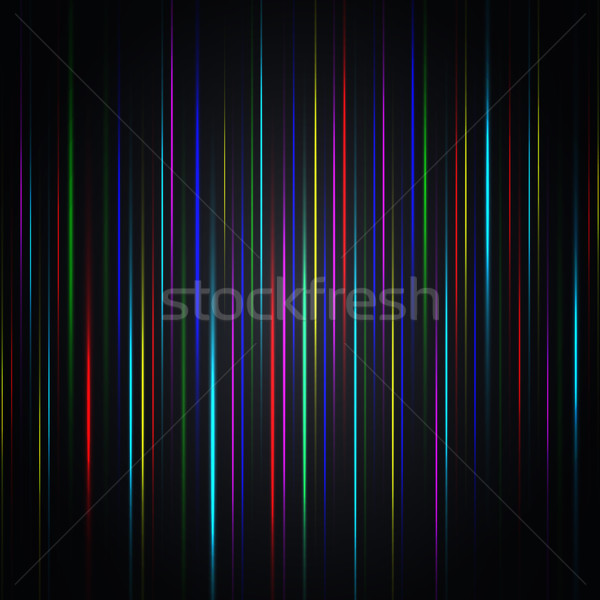 Abstract background from multi-colored bright strips, vector illustration. Stock photo © kup1984
