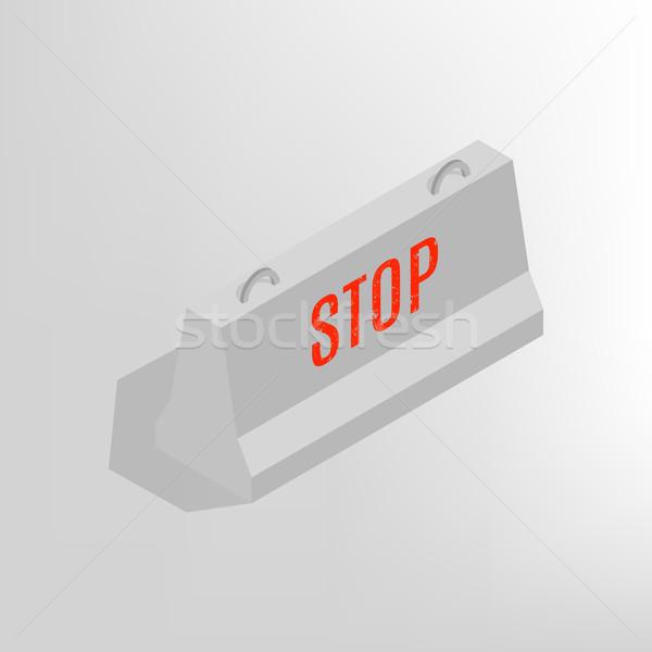 鉄 具体的な アイソメトリック 孤立した 白 デザイン ストックフォト © kup1984