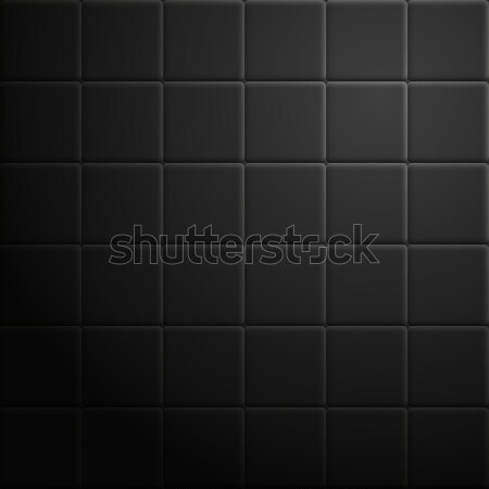 Abstrato azulejos escuro textura preto construção Foto stock © kup1984