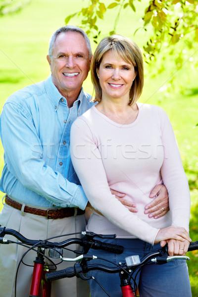 Senior couple. Stock photo © Kurhan