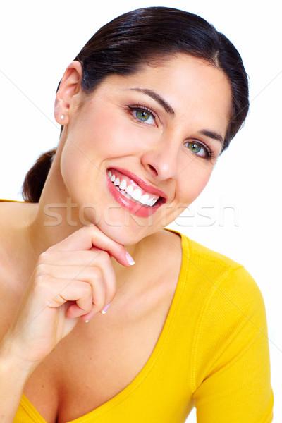 Beautiful smiling woman . Stock photo © Kurhan