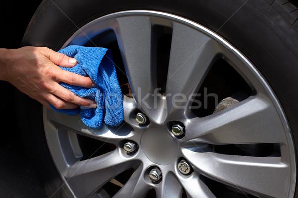 Car washing. Stock photo © Kurhan