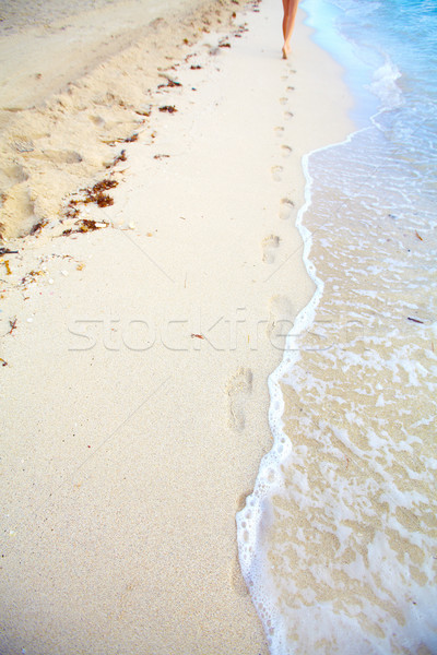 Passi spiaggia tropicali resort sole mare Foto d'archivio © Kurhan