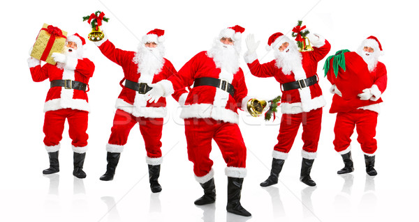 Happy Christmas Santa. Stock photo © Kurhan