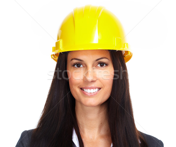 Young architect woman portrait Stock photo © Kurhan