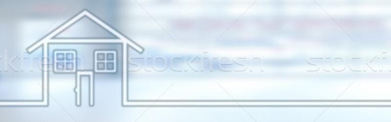 House. Stock photo © Kurhan