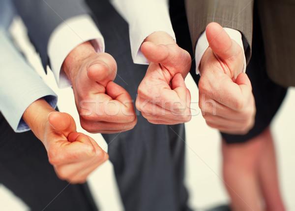 Hands with thumbs. Stock photo © Kurhan