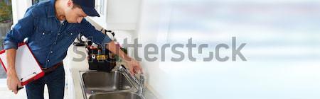 Plumber. Stock photo © Kurhan