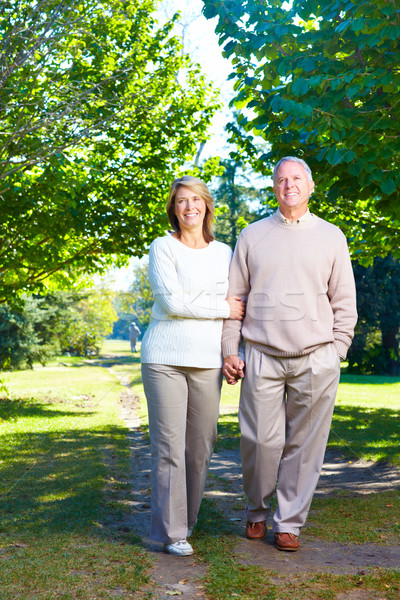 Senior couple. Stock photo © Kurhan