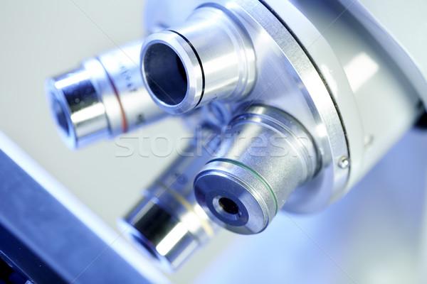 Scientific microscope. Stock photo © Kurhan
