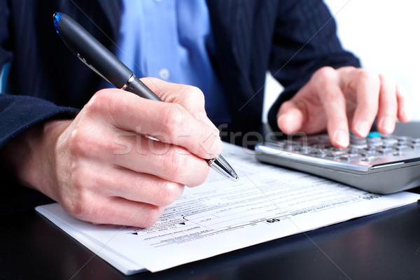 Stock photo: Tax Form