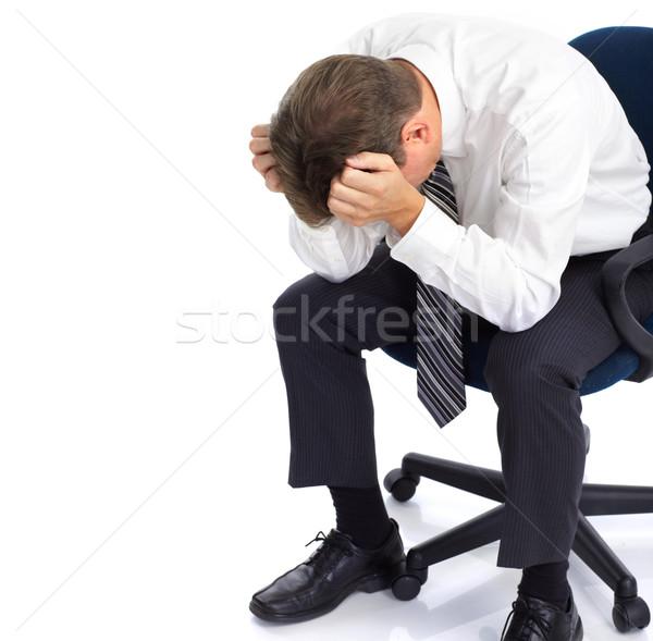 Business stress Stock photo © Kurhan
