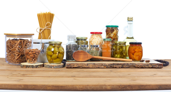 Pickles food Stock photo © Kurhan