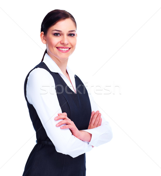 Young business woman. Stock photo © Kurhan