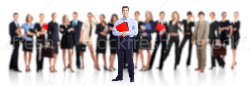 Empresário pessoas de negócios grupo empregado pessoas equipe de negócios Foto stock © Kurhan