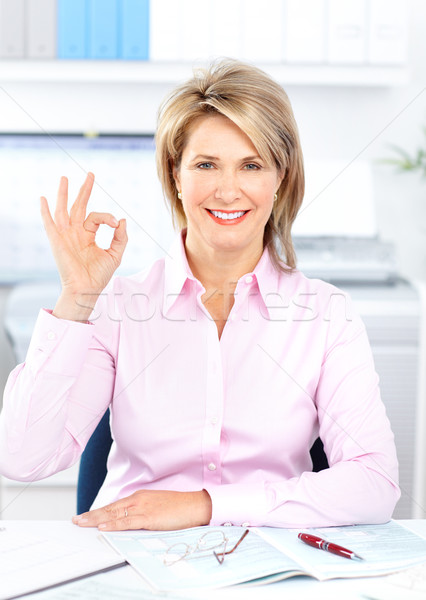 businesswoman  Stock photo © Kurhan