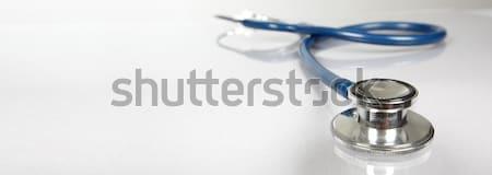 Medische stethoscoop professionele gezondheidszorg helpen baan Stockfoto © Kurhan