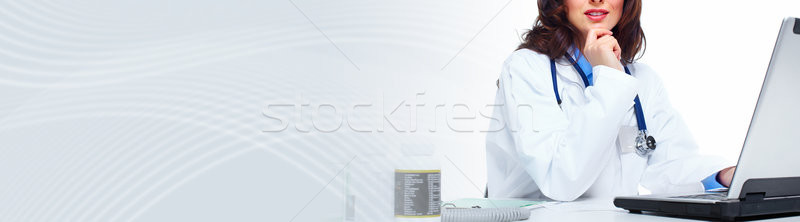 Doctor woman Stock photo © Kurhan