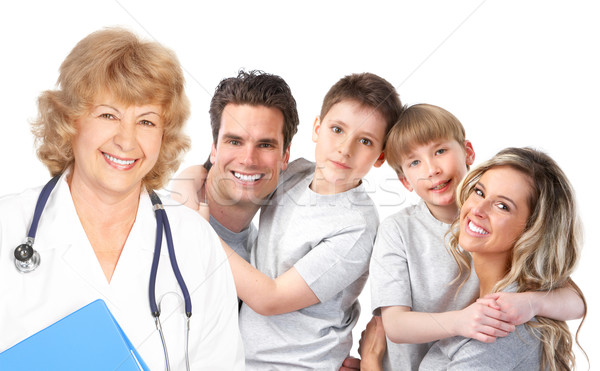 family medical doctor Stock photo © Kurhan