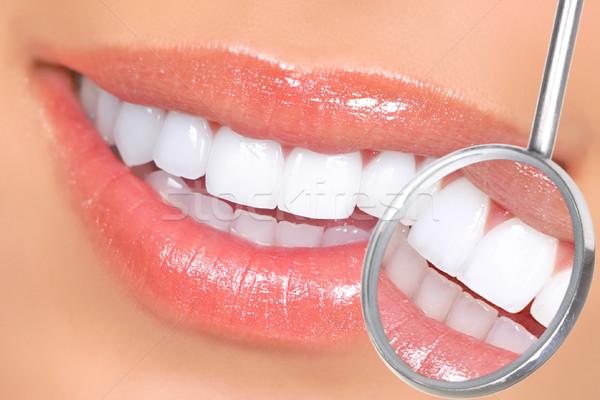 teeth Stock photo © Kurhan