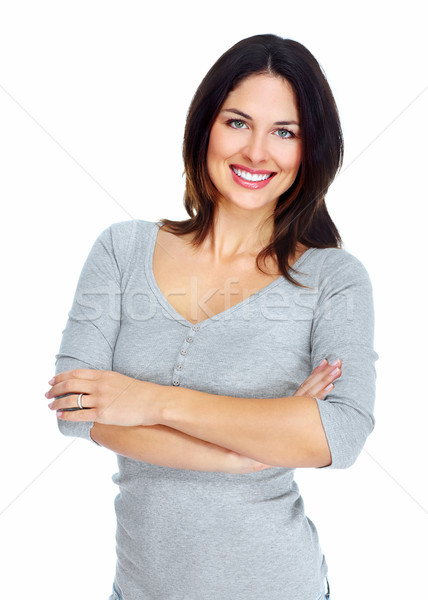 Young beautiful woman portrait. Stock photo © Kurhan