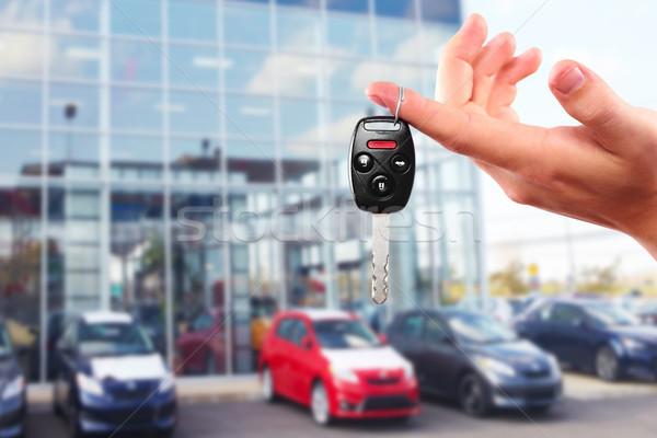 New Car keys. Stock photo © Kurhan