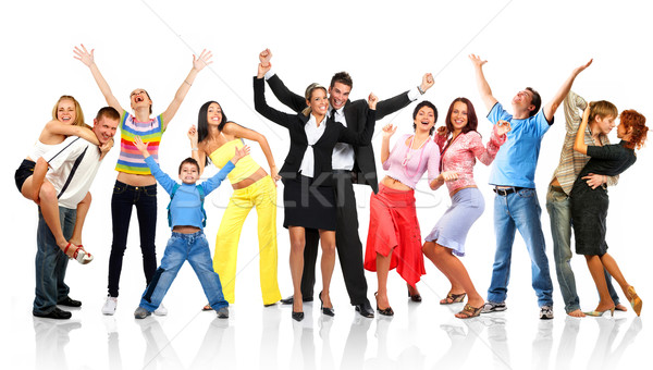 Stock photo: Happy people
