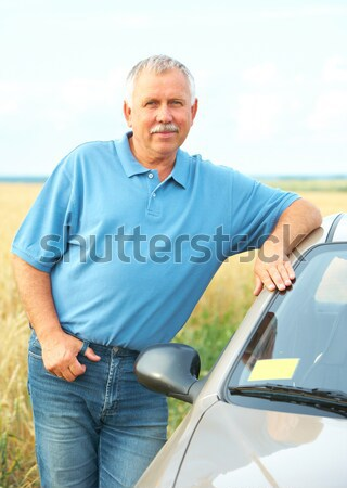 elderly man  Stock photo © Kurhan