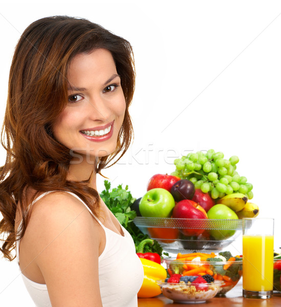Stock photo: happy woman