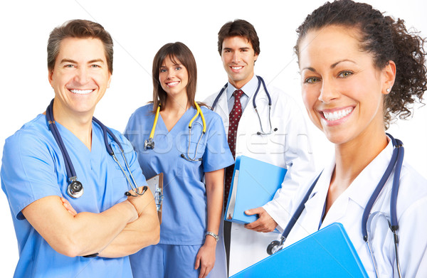 Stock photo: medical people