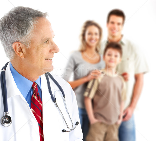 Family doctor Stock photo © Kurhan