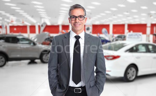 Hombre auto negocios Foto stock © Kurhan