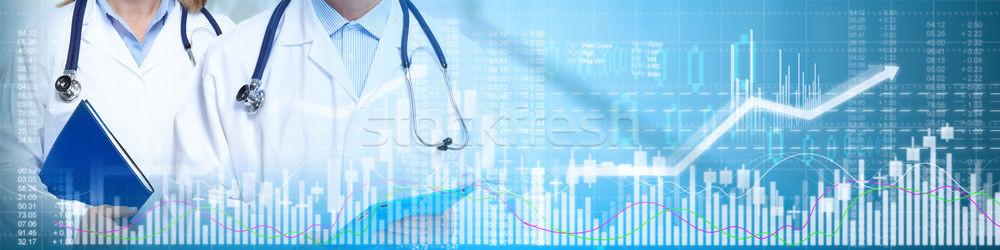 ストックフォト: 薬剤 · 室 · 研究 · 医療 · 医療 · 投資