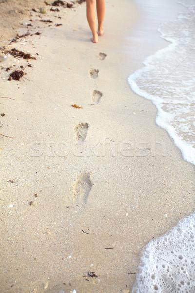 Passi spiaggia tropicali resort acqua sole Foto d'archivio © Kurhan