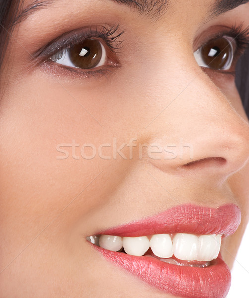 Stock photo: Beautiful woman face
