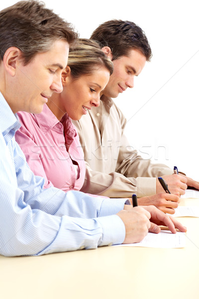 Stock photo: business people team