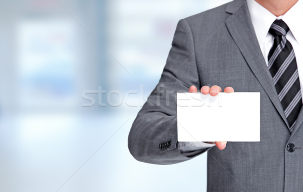Business card. Stock photo © Kurhan