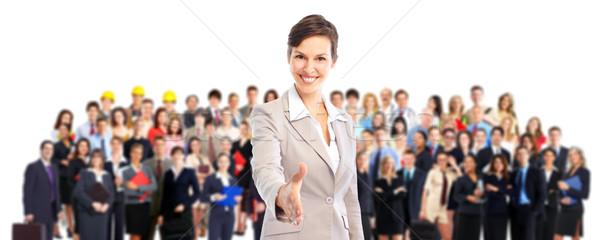 Equipo de negocios gente de negocios negocios mujer oficina Foto stock © Kurhan
