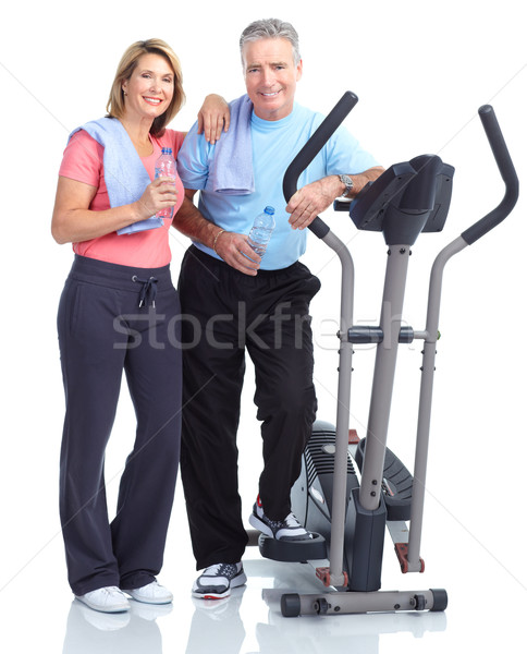 Gym, Fitness, healthy lifestyle Stock photo © Kurhan