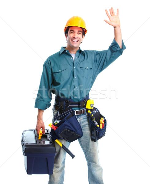 Contractor. Stock photo © Kurhan