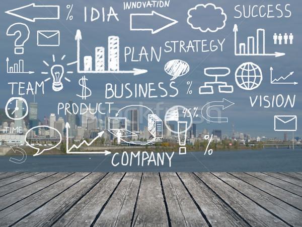Business plan. Stock photo © Kurhan