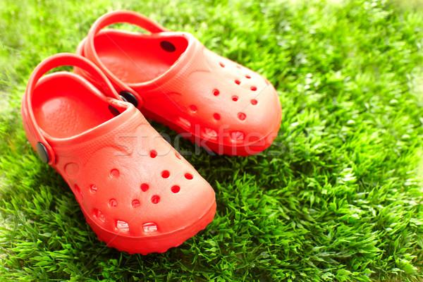 Summer shoes Stock photo © Kurhan