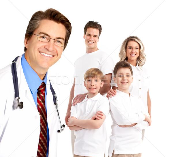 Family doctor Stock photo © Kurhan